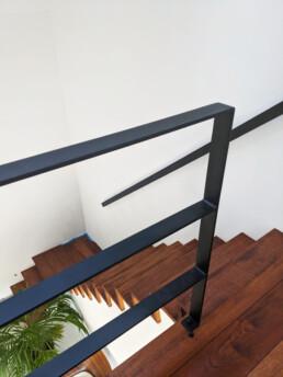 Op maat gemaakte stalen balustrade